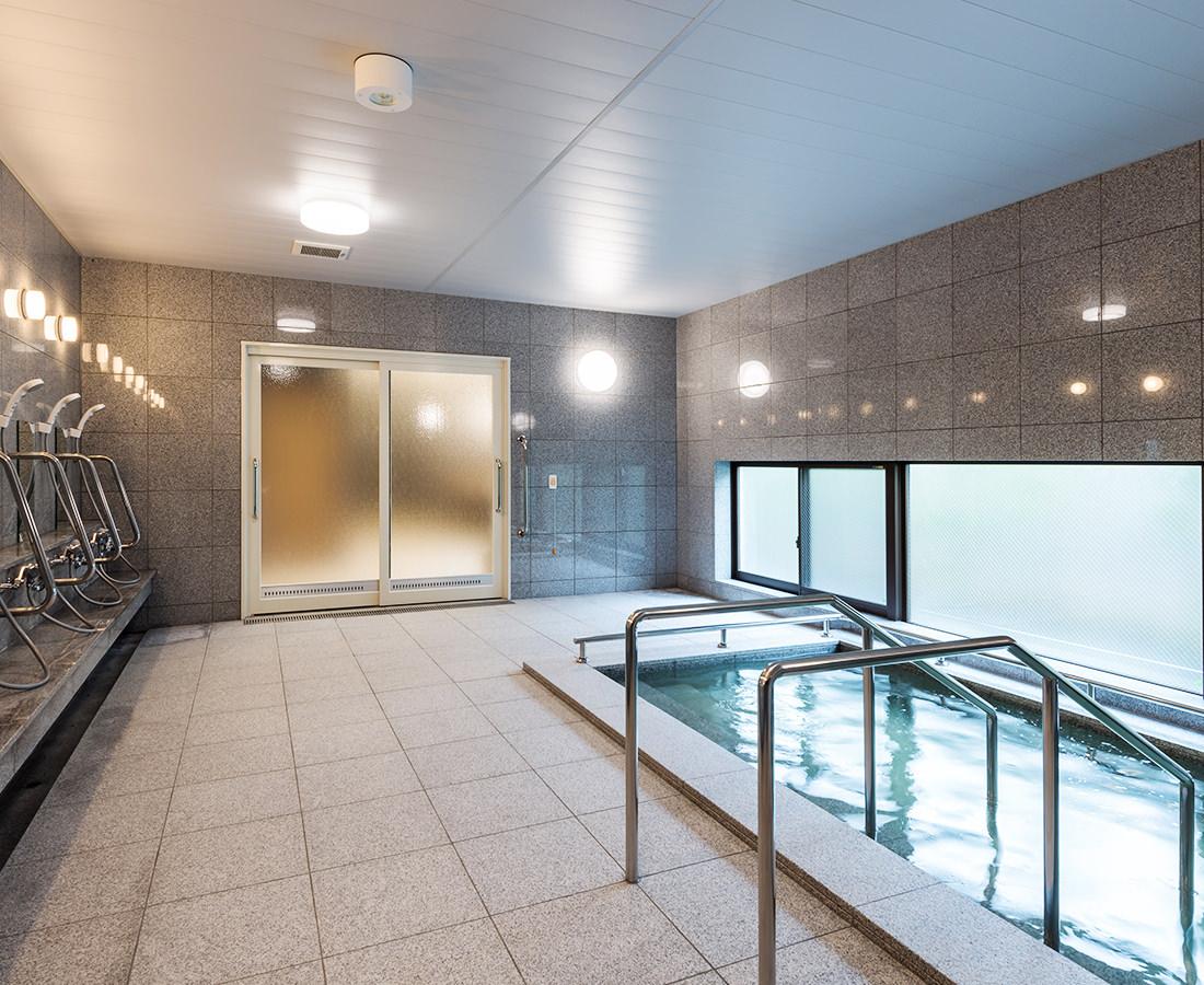 天然温泉 入浴サポート