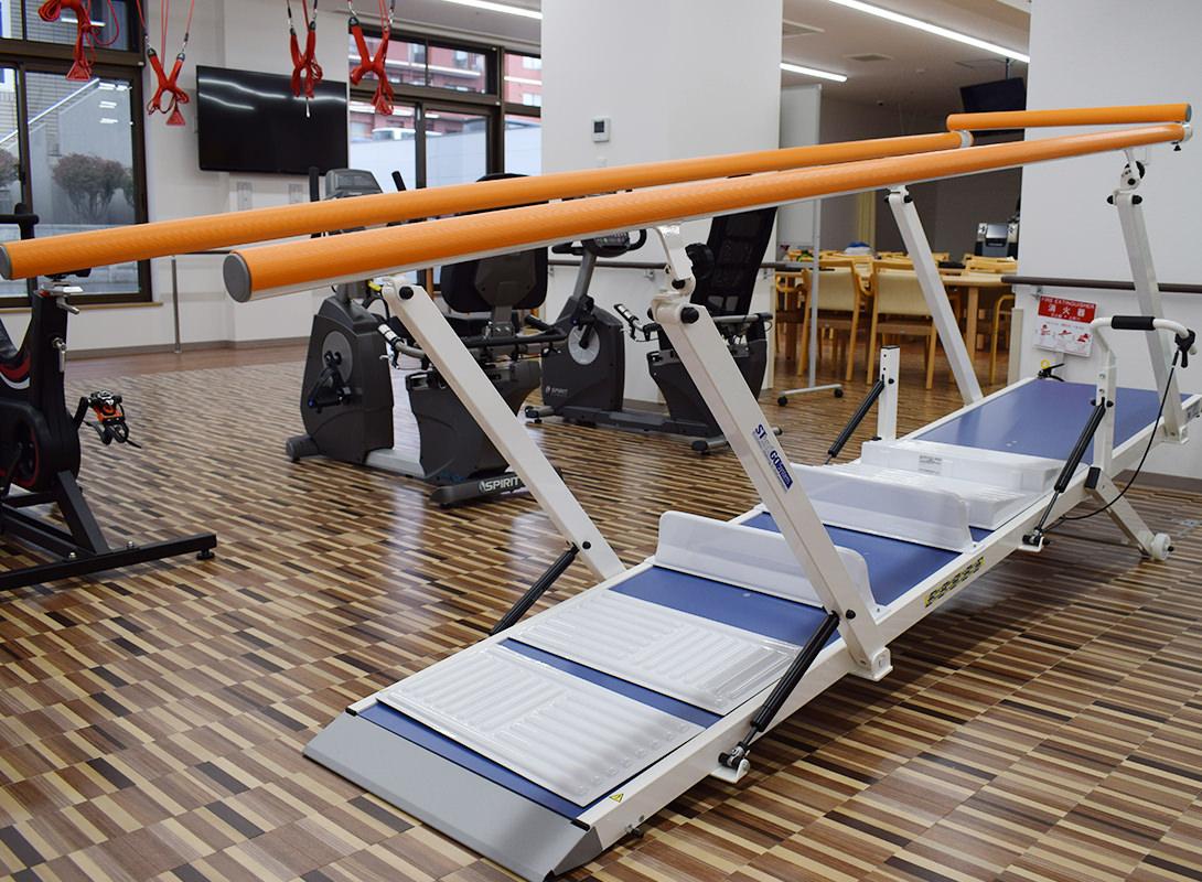 平行棒・階段 トレーニング