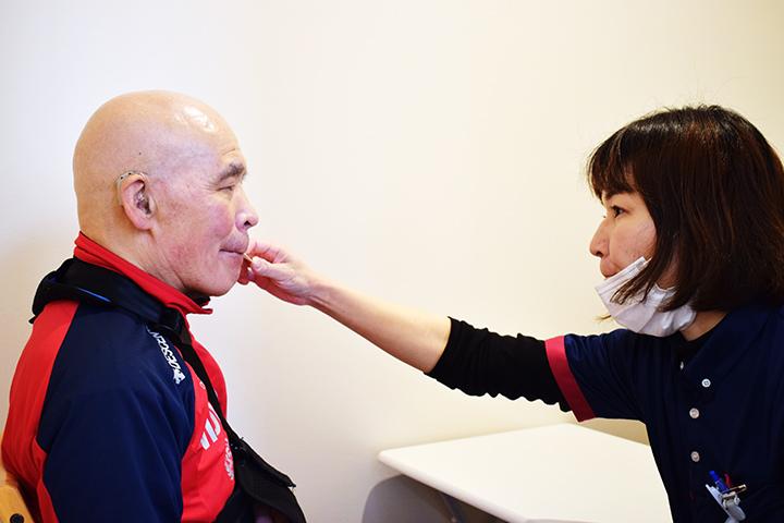 口腔機能訓練