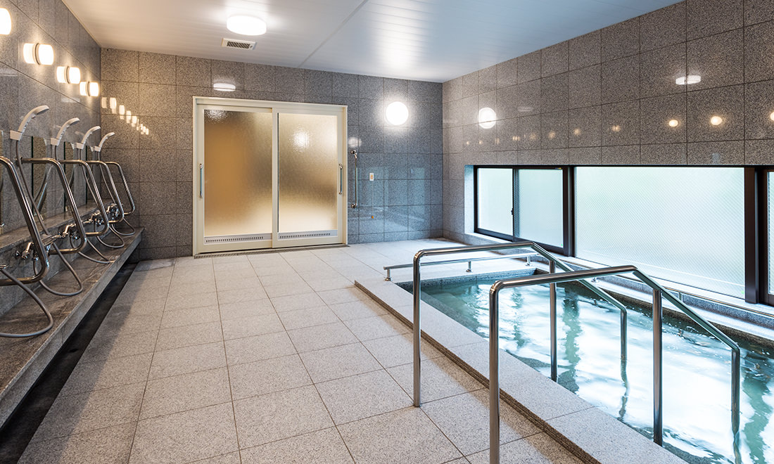 癒しの天然温泉 ゴールドヒルズ平岸 入浴サポート